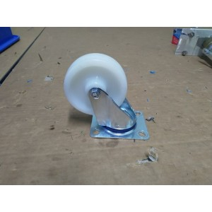 100mm Stainless Steel Swivel Castor-Nylon Wheel